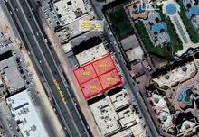 أرض للإيجار في طريق الملك عبدالعزيز ، حي النفل ، الرياض