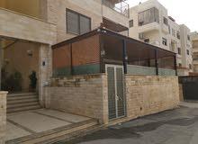 شقة ارضية للبيع في رجم عميش
