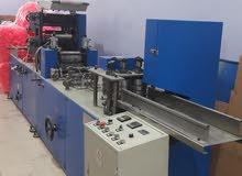 ماكينة تقطيع مع طوي مع طباعه لونين فاين