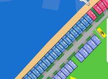 للبيع أرض بصباح الاحمد البحرية بالمرحلة الثالثة B صف ثاني  رقم القسيمة : 3850