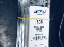 رامات لابتوب DDR4 16G 2666 GHZ
