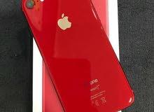 ايفون 8 لون احمر وكاله ولا نقرا اخو الجديد 64جيجا