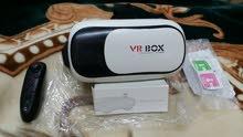 نظارات VR BOX ذات جودة عالية +ريموت للنظارة  للعب ملاحظة. اقرأ نص الاعلان جيدااا