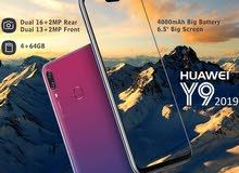 هواوي Y9 2019 Huawei كاش أو أقساط