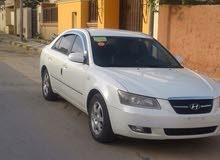 سيارة هونداي سوناتا موديل 2007 ماشية 120 ألف للبيع