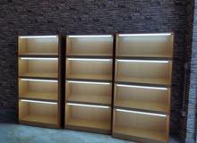 excellent sheves for bakery 3nos   رفوف عرض مخابز مضيئة صلالة led