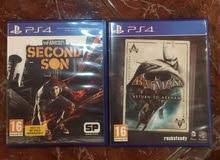 For Sale PS4 BATMAN & InFAMOUS