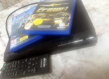 + DVD  player + ps4 games :crew 2