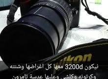 ,كاميرا نيكون 3200d