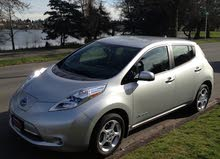 Nissan Leaf 2014 For sale - Silver color