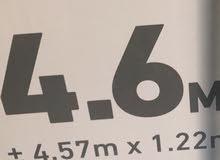 حوض انتكس حجم : 4.57 عمق : 1.22 استعمال مره واحده