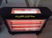 دفايات KUMTEL كوميتل التركية 5 شمعات بسعر 130 دينار