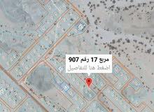 العامرات-مدينة النهضة        مربع 17 رقمها الجديد: 1160 مساحتها: 600 متر  الارض
