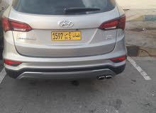 2017 Used Santa Fe with Automatic transmission is available for sale