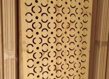 تركيب اعمال القرميد والمعرشات والديكورات الخشبيه