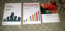 3 كتب مادة محاسبة Accounting Books