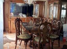 غرفة سفرة فاخرة للبيع في اربد الحي الشرفي