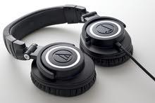 Audio Tecnica ATH-M50x  سماعات احترافية