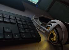 سماعات  Steelseries 350 gaming headset white