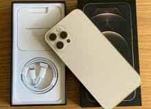 iPhone 12 Pro Max 512GB ذهبي مفتوح
