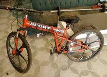 دراجه رياضيه استعمال حشمه