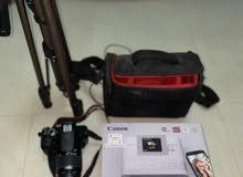 Canon EOS 1300D with printer