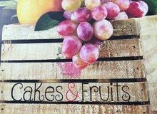 مطلوب شيف يجيد عمل صواني و سلة الفاكهة وتورت من الفواكه و لديه الابداع