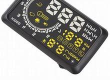 Digital LED head up display speedometer عداد سرعة يعكس على الزجاج الامامي