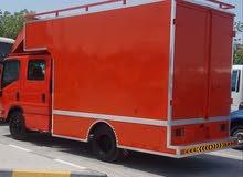 pickup isuzu npr box double cabin for sale