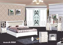 غرفة نوم ابيض