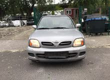 Silver Nissan Micra 2002 for sale