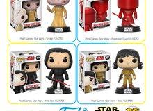 Original Funko Pop Vinyl Star Wars Collection Characters
