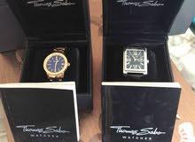 ساعتين رجالية ونسائية توماس سابو جنيڤ