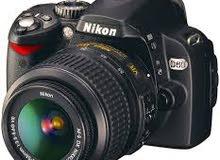 مطلوب كاميرا نيكون Nikon d60