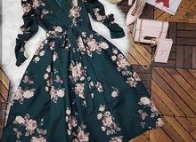 فستان سهرة فاخر جديد للبيع