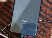 جوال ايفون 8 بلس اسود 256 جيجا