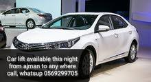 كارلفت توصيل عجمان دبي  Ajman Sharjah Dubai Car lift Carlift Call on: 0556300093 Car left Delivery