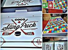 لعبة Sling Puck 3 في 1 / Sling Puck / ليدو / السلم و التعبان
