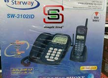 هاتف ستارويه مع لاسلكي يعمل بدون كهربا