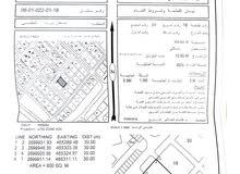ارض سكنيه حق البييع في صحار الملتقي الجديده مربع 1 حاليا