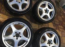 """جنوط فياقرا 18 انش للبيع - 18"""" mercedes wheels"""