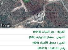 قطع أراضي سكنيه ذات أطلاله مميزه في اجمل مناطق جرش