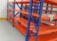 رفوف ارفف مستعمل للمخازن والمحلات والمستودعات