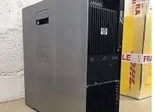 جهاز اورجينال استيراد الخارجHP WORKSTATION Z600 دبل برسيسور X5650