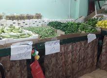 مول خضار وفواكه في جبل طارق شارع الشلال للبيع او الضمان