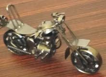 هيكل دراجه ناريه معدني متحرك للبيع