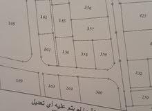 قطعة ارض للبيع في حوارة اربد 859   متر مربع