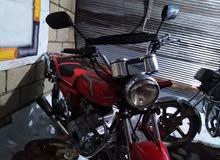 Used Kawasaki motorbike up for sale in Irbid
