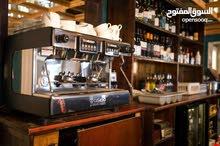 كافتيريا وقهوة مربحها 2000 شهري للبيع