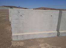 حواجز خرسانية جديدة _ Concrete Barriers new